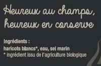 Haricots blancs bio - Ingredients - fr
