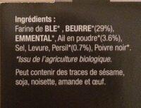 Feuilletés Persillade - Ingrediënten