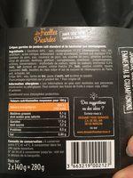 Les Ficelles Picardes - Ingredients - fr