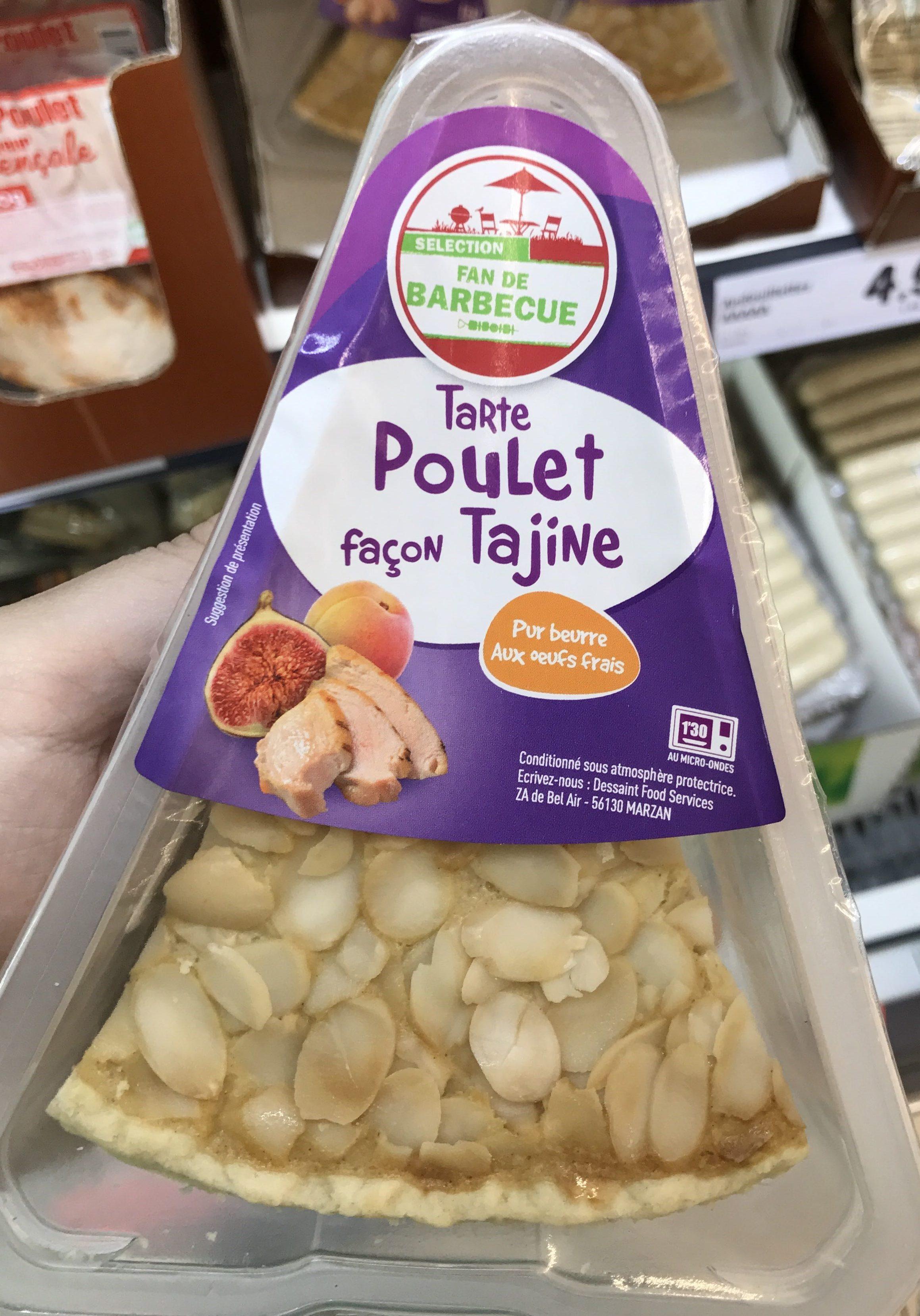 Tarte Poulet façon Tajine - Produit