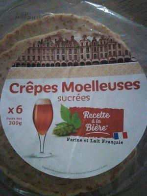 Crêpes moelleuses - Produit - fr