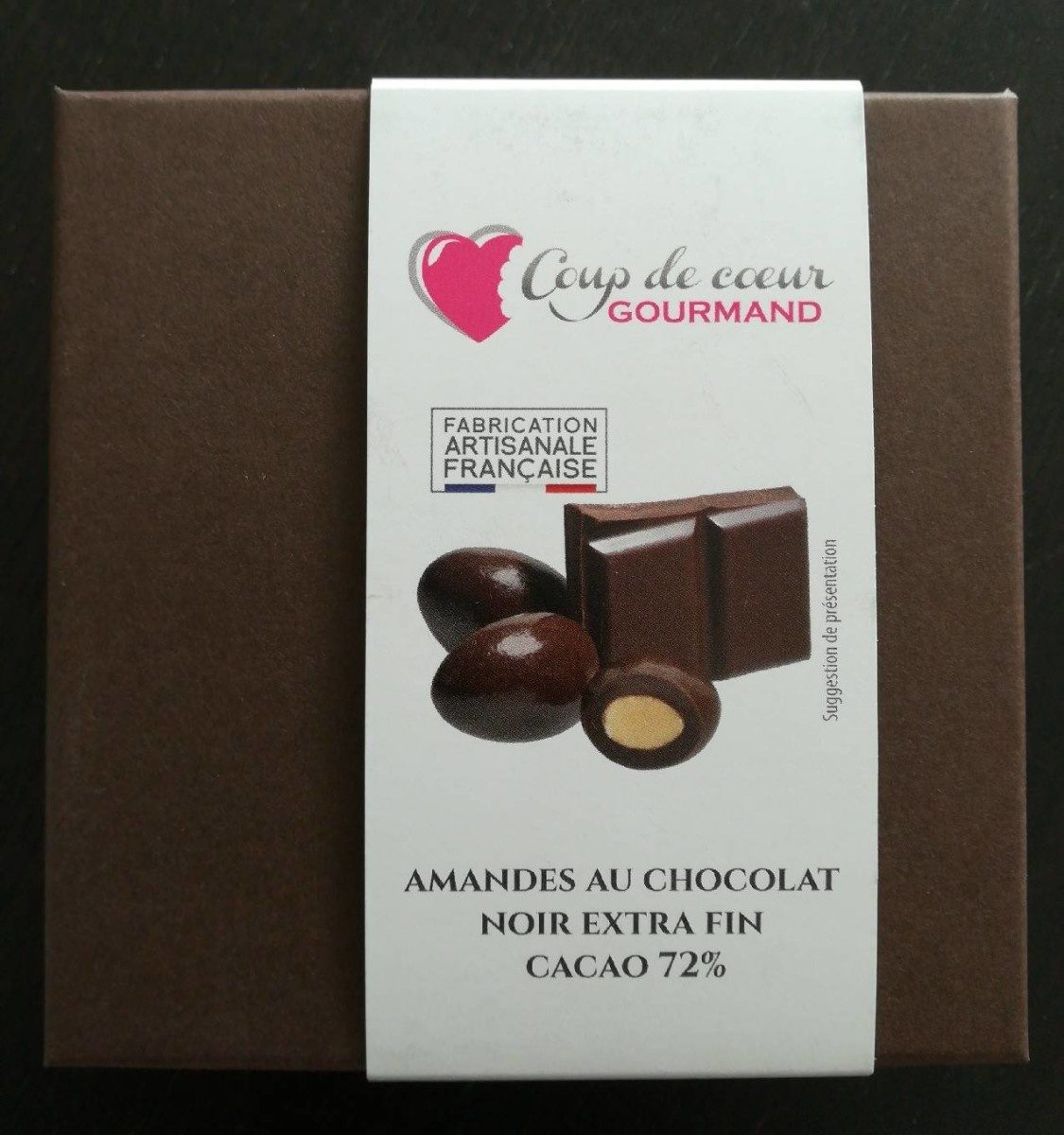 Amandes au chocolat noir - Produit