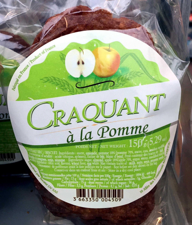 Craquant à la Pomme - Producto