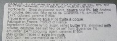 Caramel au beurre salé - Ingredients