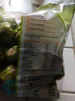 Choux bruxelles - Nutrition facts - fr