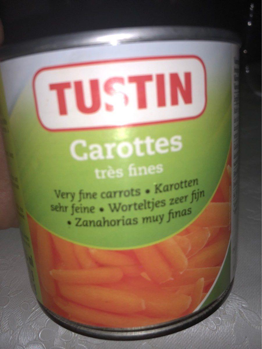 Tustin Carottes tres fines - Produit - fr