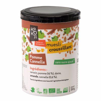Muesli Croustillant Pomme-cannelle - Product - fr