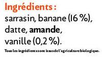 Muesli croustillant banane-vanille Kokoji - Ingrédients - fr