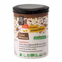 Muesli Croustillant Cacao Noisette - Produit