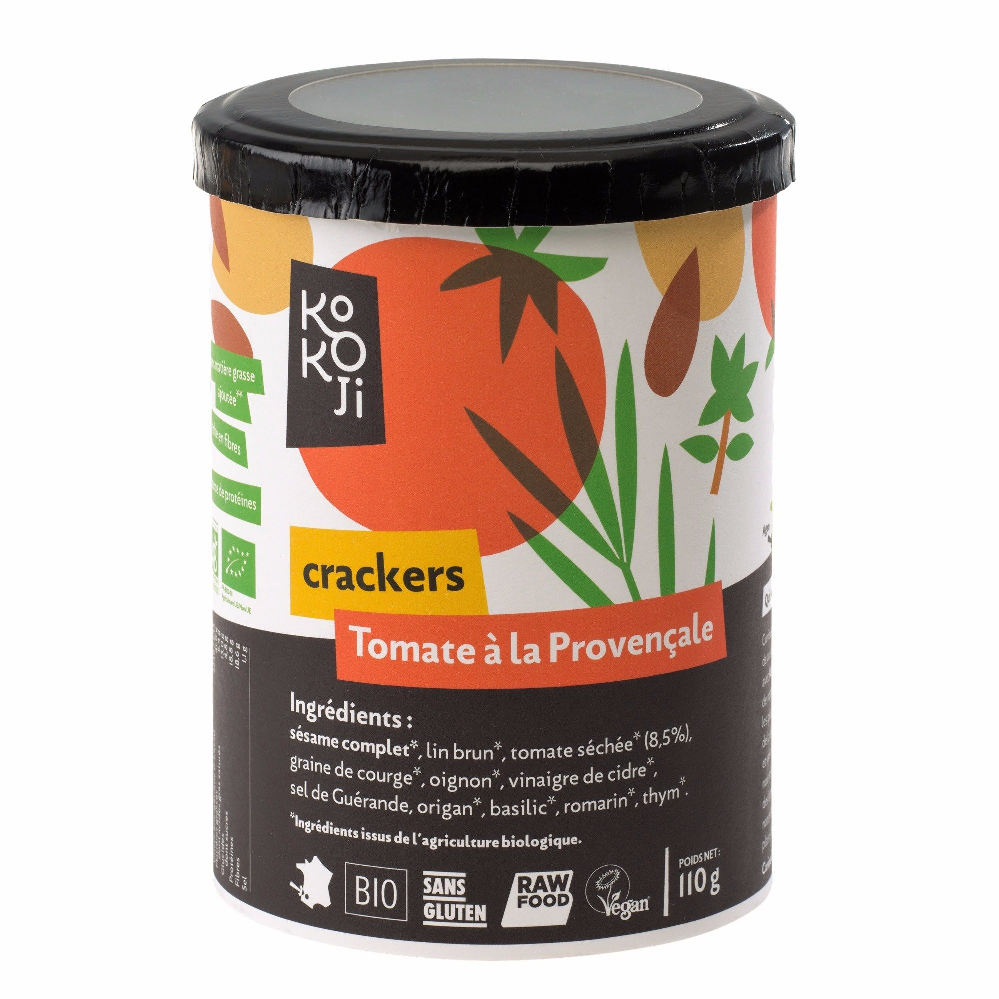 Crackers tomate à la Provençale - Produit