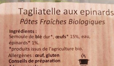 Bioetika - Ingrédients