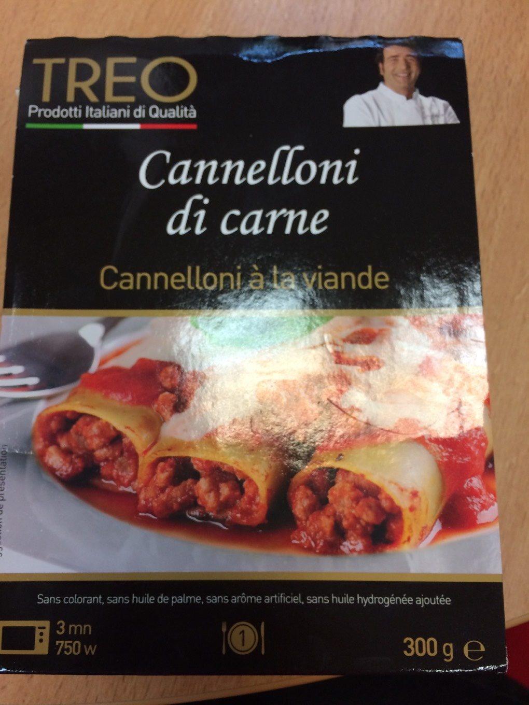 Cannelloni à la viande - Product