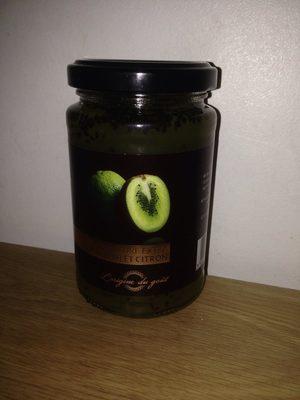Confiture Extra Kiwi et Citron - Product