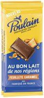 Au bon lait de nos régions - Feuilleté caramel - Producto - fr