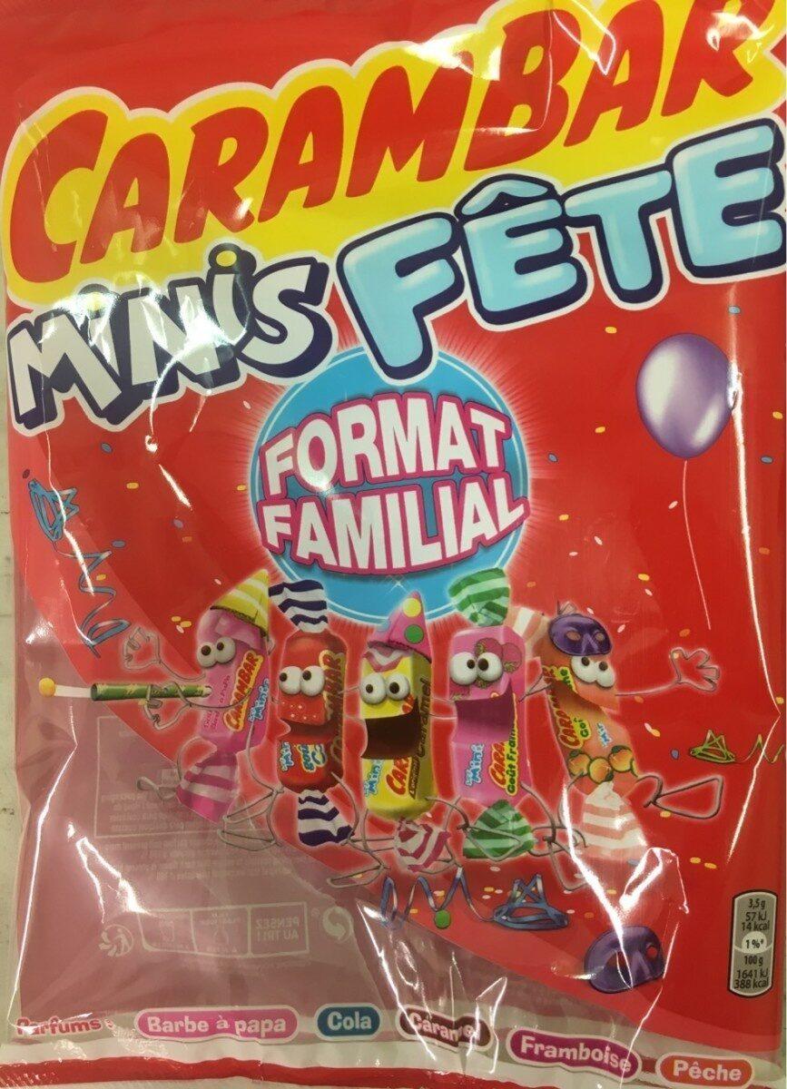 Carambar minis fête - Prodotto - fr
