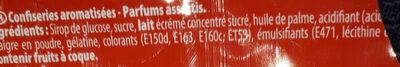 Carambar minis fête - Ingredienti - fr