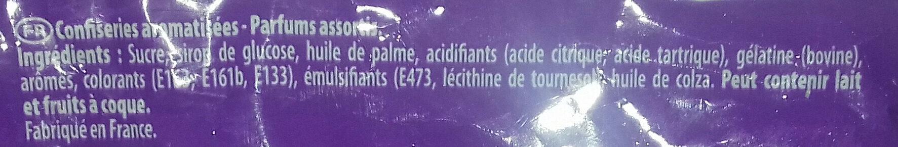 Carambar Atomic - Ingredienti - fr