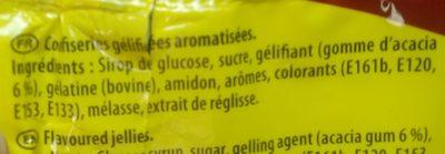 Goms - Ingrediënten - fr