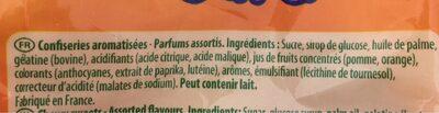 Régal'ad - Ingrédients