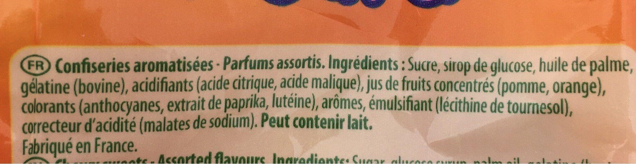 Régal'ad - Ingrédients - fr