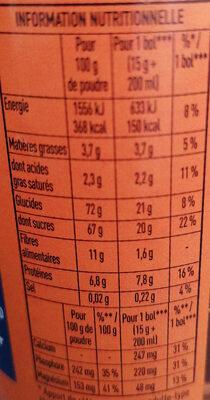 Grand Arôme 32% de Cacao - Nutrition facts