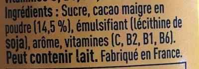 Super poulain - Ingredients - fr