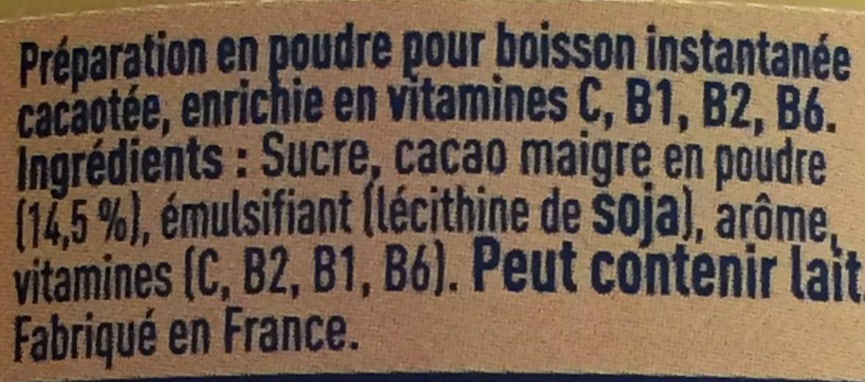 Super Poulain - Ingredienti - fr