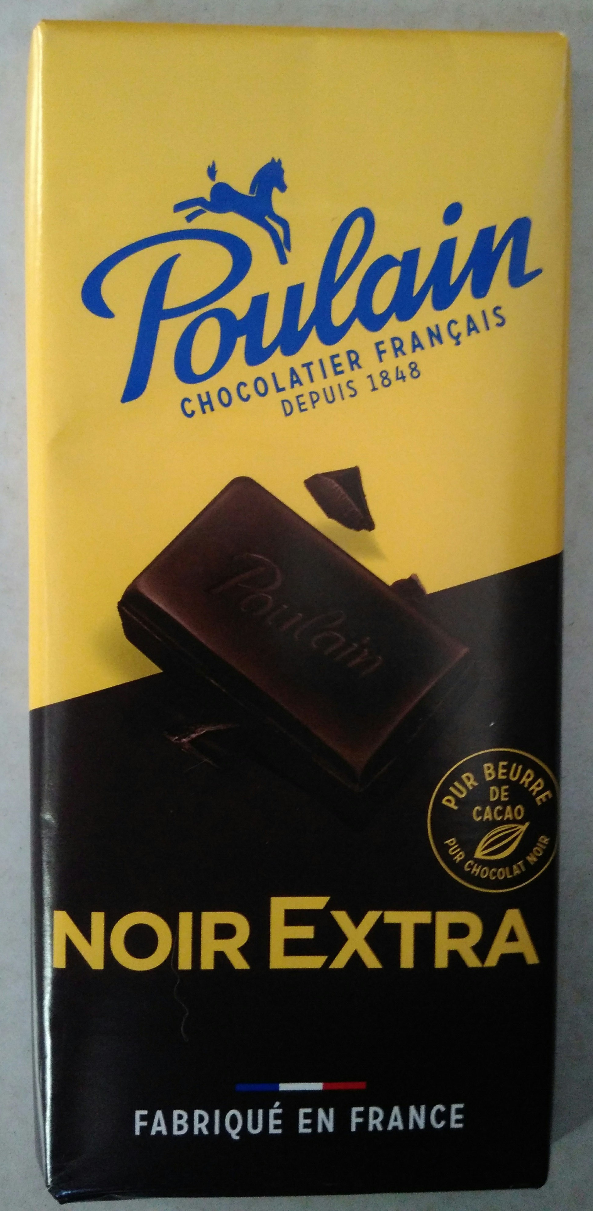 Poulain Noir Extra - Produit - fr