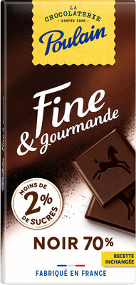 Fine et gourmande Noir 70% - Producto - fr