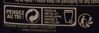 Fine et gourmande Noir 70% - Instrucciones de reciclaje y/o información de embalaje - fr