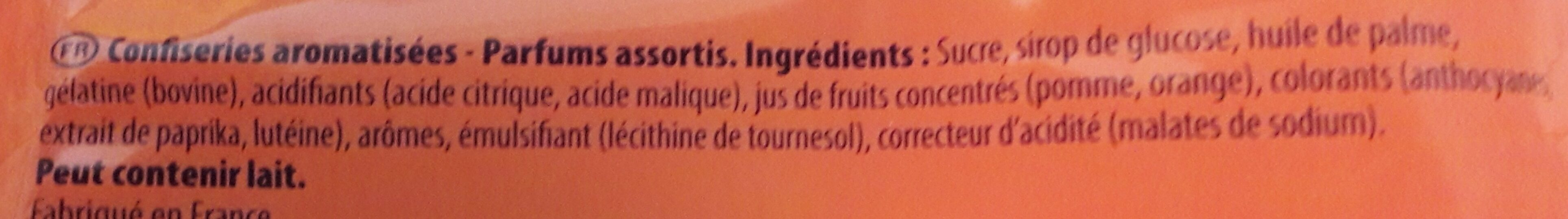 Regal'ad - Ingrédients - fr