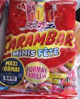 Carambar minis fête - Produit
