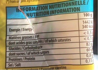 Mini cub - Informations nutritionnelles - fr