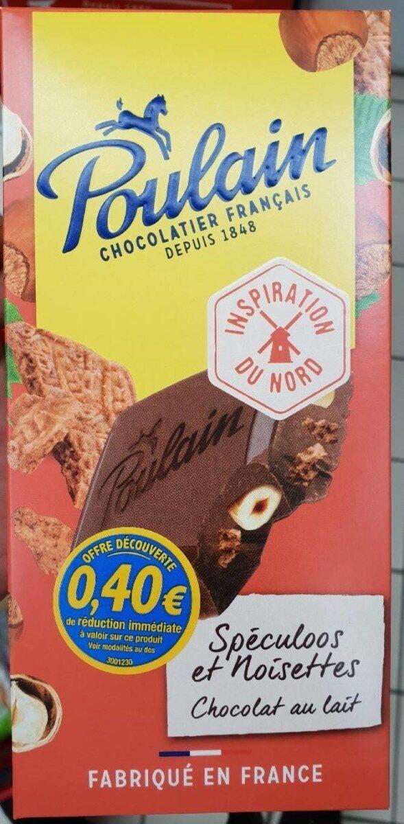 Chocolat au lait spéculoos et noisettes - Product