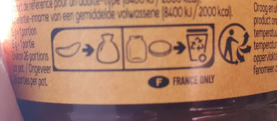 Pâte à tartiner poulain - Instruction de recyclage et/ou information d'emballage - fr