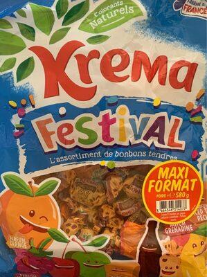 Krema festival - Informação nutricional - fr
