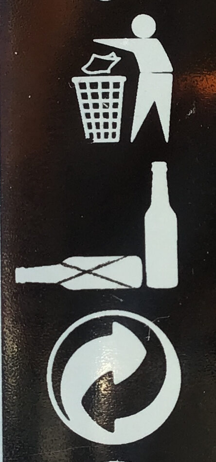 Blonde - Recycling instructions and/or packaging information - fr