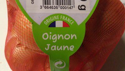 Oignons jaunes - Ingrédients - fr