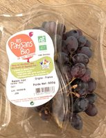 Raisin Noir - Product