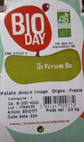 Patate douce rouge - Product - fr