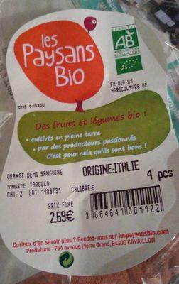 Orange demi sanguine - Product - fr