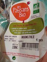 Orange demi sanguine - Ingrediënten - fr