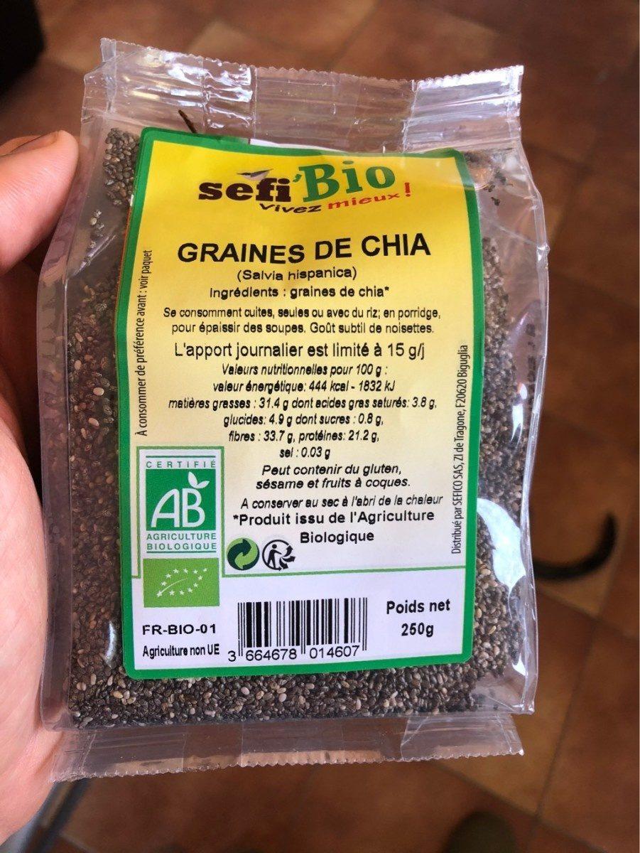 Graine de chia - Product - fr