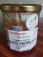 Contiture extra fruits tropicaux - Product - fr