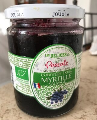 Confiture extra myrtille sauvage - Product - fr