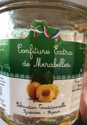 Confiture extra de Mirabelles - Product