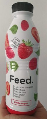 Pret a boire fruit rouge - Produit - fr