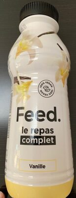 Feed Le repas complet Vanille - Produkt - fr