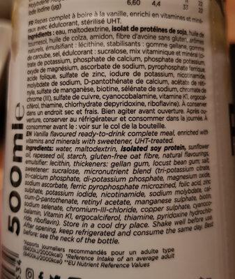 Feed Le repas complet Vanille - Inhaltsstoffe - fr