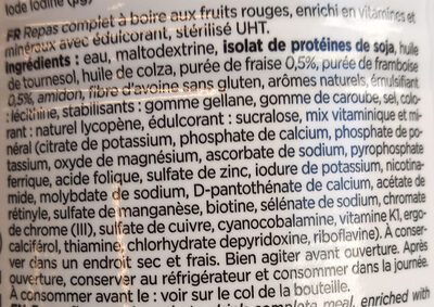 Feed Le repas complet Fruits rouges - Ingredienti - fr